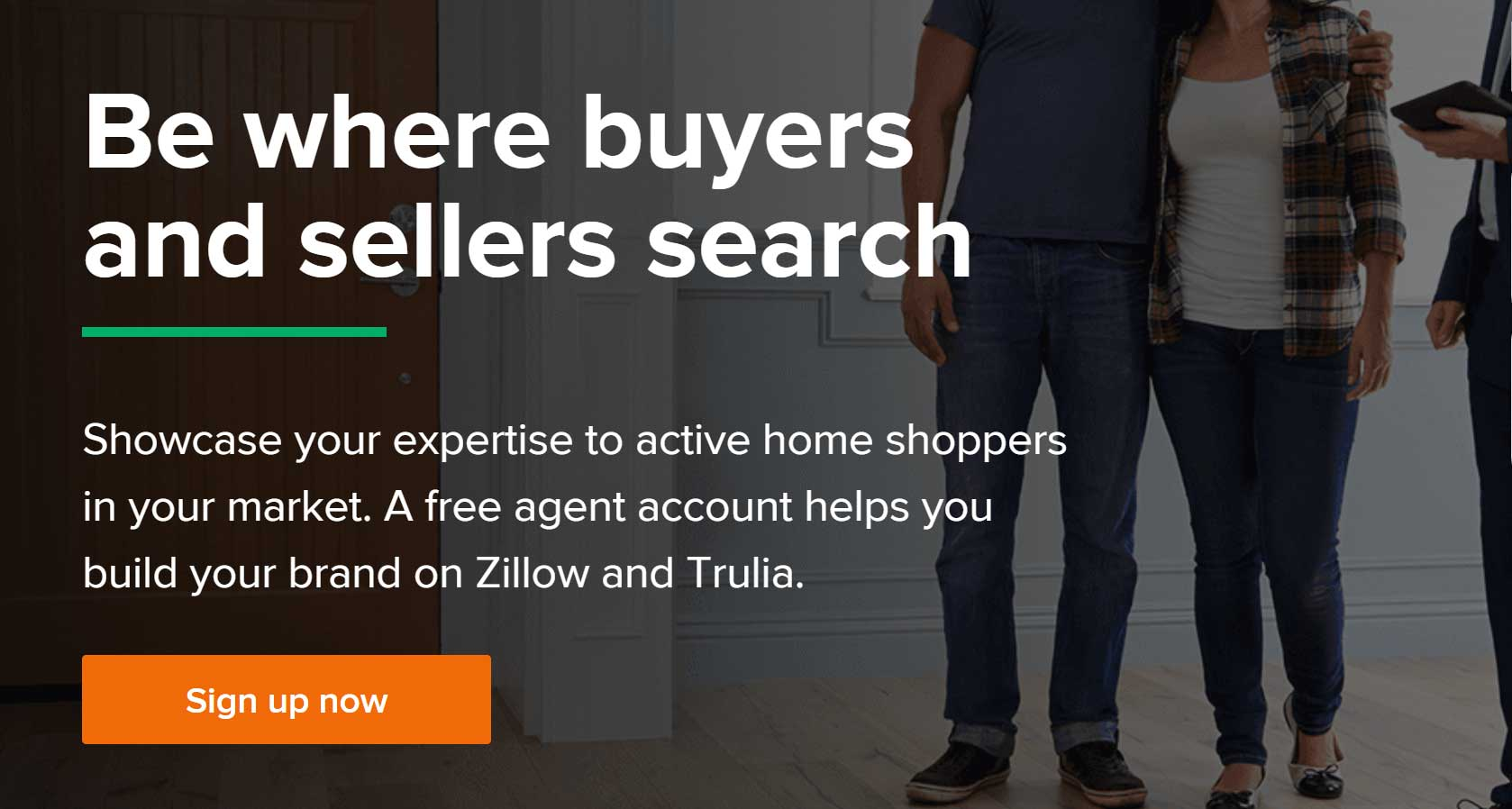 real estate agents on Zillow